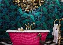Vilket underbart badkar! Var kan man få tag i ett sådant?
