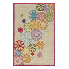 Lil Mo Hipster Lmt8 Rug, Ivory, 8'x10'