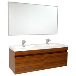 Ideal Contemporary Bathroom Vanities And Sink Consoles by Fresca