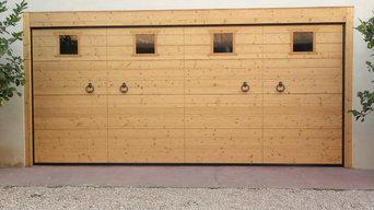 Portoni garage scorrevole verso l'alto (sezionale)