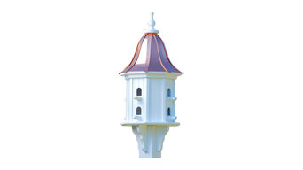 Dovecote Birdhouse Copper Vinyl, Bright Copper