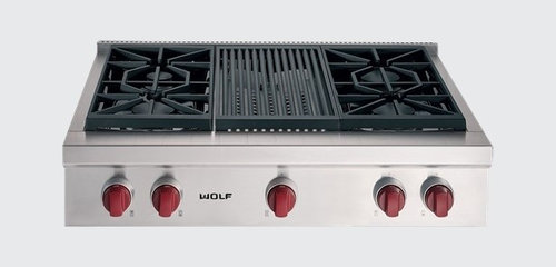 Debating Between The Wolf Gas Range Top And Kitchen Aid
