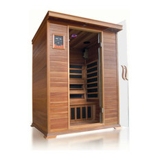 SunRay Sierra 2-Person Infrared Sauna With Carbon Heaters