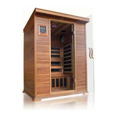 SunRay - SunRay Sedona 1, 2 Person Infrared Sauna With Carbon Heaters - Saunas