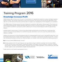 2016 Industry Training Program
