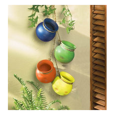 Summerfield Terrace - Fiesta Dangling Pots - Outdoor Pots and Planters