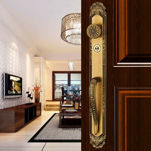 Luxurious Mortise Locks Entry Entrance Front Door Handle Locksets