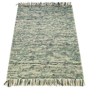 Retreat Maya Rug, Teal and Turquoise, 160x230 cm