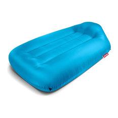 Fatboy Lamzac Air-Filled Outdoor Lounge Bed, Aqua Blue