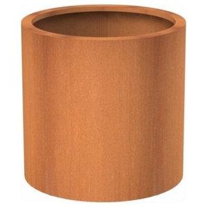 Adezz Corten Steel Planter, Atlas Column, 60x60cm