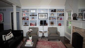 Modern Bookcase in White