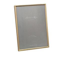 Addison Ross Fine Matte Gold Photo Frames, 5x7