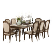 Homelegance Eastover 96 Inch Dining Table