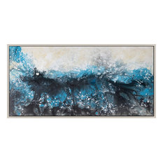 """Deluge"" Wall Decor With Frame"