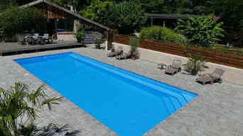 one piece swimming pool project