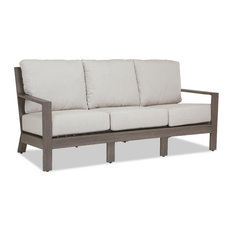 Sunset West Outdoor Furniture   Laguna Sofa With Cushions, Canvas Flax   Outdoor  Sofas