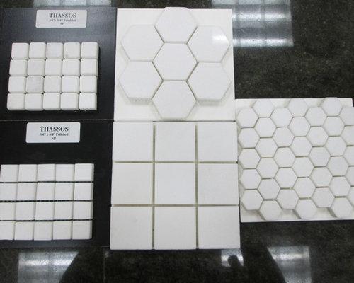 White Thassos - Tile