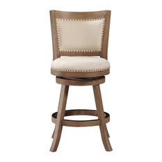 1st Avenue   Dune Melrose Swivel Counter Stool, Driftwood Gray   Bar Stools  And Counter