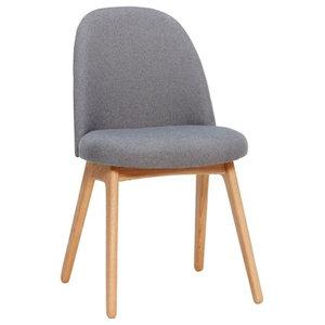 Hübsch Accent Chair, Dark Grey