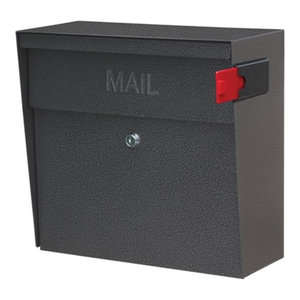 Mail Boss Metro Security Locking Wall Mount Mailbox, Galaxy