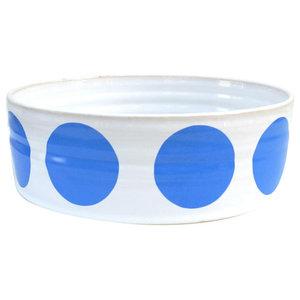 Spot Fruit Bowl, Blue, Small