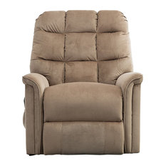 BONZY Lift Recliner Power Lift Chair, Mocha