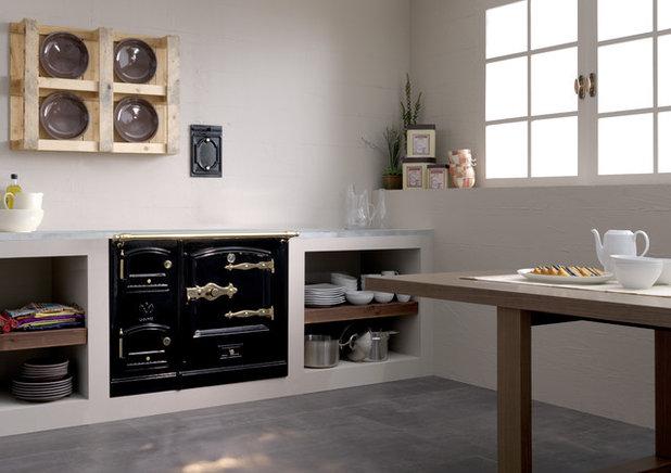 Revival vintage: Las cocinas de leña vuelven a la casa de campo