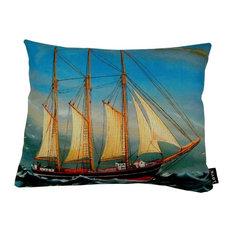 """O Ship Indoor/Outdoor Pillow, 20""""x16"""""""