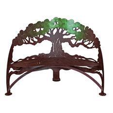 Tree Bench, Green