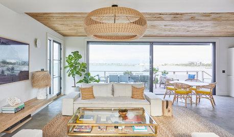 Houzz Tour: Hamptons Beach House With Worldly Flair