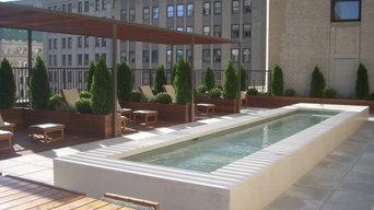 New York City Gardens - Wall Street
