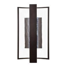 George Kovacs Sidelight LED Wall Sconce P1207-615B-L, Dorian Bronze