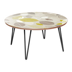 Stella Hairpin Coffee Table - Autumn Leaves