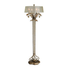 Alenya Gold Floor Lamp By Designer NA
