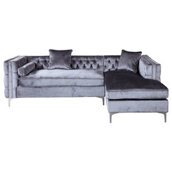 Contemporary Sectional Sofas by Chic Home