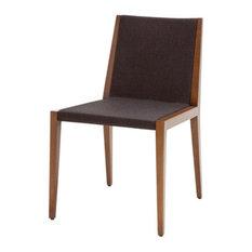 Spirit Chair, White Leatherette