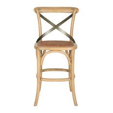 safavieh safavieh eleanor counter stool weathered oak bar stools and counter stools