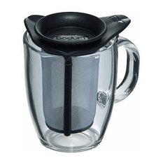 Bodum Mug and Tea Infuser, Transparent