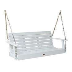 Weatherly Porch Swing, White, 5'