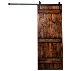 Rustic Interior Doors by Rustica Hardware