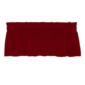 Patch Magic Fabric Crib Dust Ruffle Deep Red with Tan Stripes Perfectly Yours DRCW248A