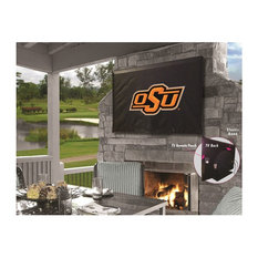 Oklahoma State TV Cover for TV Sizes 50-56 by Covers by HBS by Holland Bar Stool Company