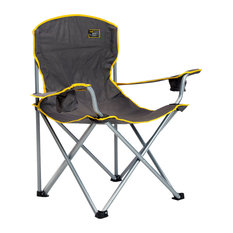 Heavy Duty Folding Chair, Gray