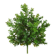 Silk Plants Direct Boxwood Bush, Pack of 8