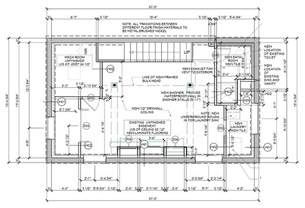 Traditional Floor Plan by OakWood Designers & Builders