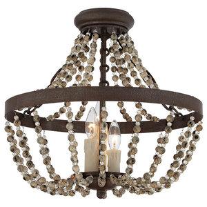 Savoy House Europe Mallory Semi-Flush Lamp