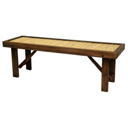 Asian Outdoor Benches by ShopLadder