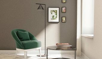 Цветовое решение оформления гостиной в минималистичном стиле.