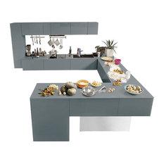 Houzz - Mobiletti per cucina Contemporaneo