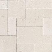 Limestone Tile French Pattern Flooring (Shell Reef) Patio, Livingroom etc. , 96